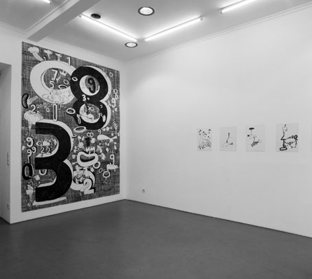 antje dorn - galerie zone b, berlin - rare animals and numbers